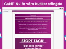 Game Stores Group Denmark, Filial af Game Stores Group Sweden Ab, Sverige